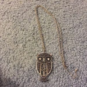 Jewelry - NEW LONG OWL NECKLACE!